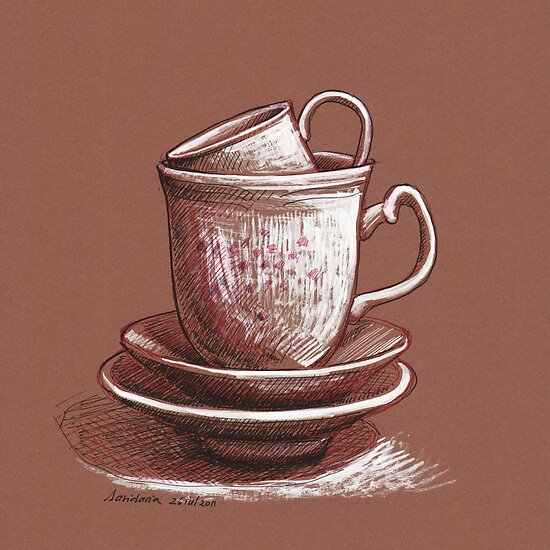 A cup of... by Dasidaria Hardcastle