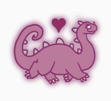 Cuteosaurus by dinohoodie