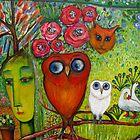 OWLS GARDEN 2 by Redlady