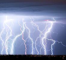 Electric Lightning Sky by Bo Insogna