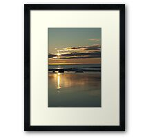 Dawning Of A New Day - White Point, Nova Scotia Framed Print