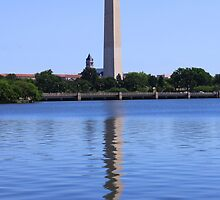 DC Reflections by Karen  Rubeiz