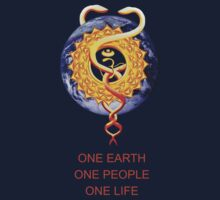 One Earth, One People, One Life by saleire