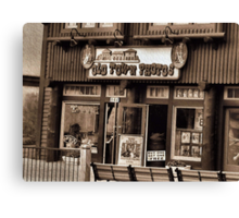 Gatlinburg, Tennessee Series, #5... The Old Timey Photo Shop, 3rd Picture   Canvas Print