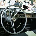 Dashboard View; 1957 Chevy Belair; Whittier, CA USA by leih2008