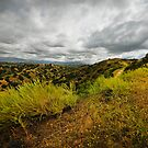 Storm in the California Hills by RonSparks