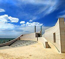 The Champalimaud Centre for the Unknown . amphitheatre . Tejo river by terezadelpilar~ art & architecture