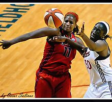 Indiana Fever vs Mysics Basktball 5 by Oscar Salinas