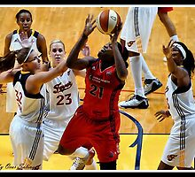Indiana Fever vs Mysics Basktball 7 by Oscar Salinas