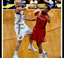 Indiana Fever vs Mysics Basktball 8 by Oscar Salinas