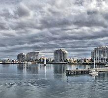 Port Melbourne Apartments by Steven  Agius
