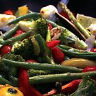 A Pan of Vegetables by TeAnne