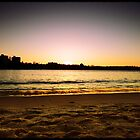 Sunset Over Manly  by pnjmcc