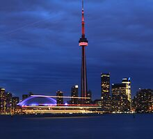 Toronto Skyline at dusk by iac89