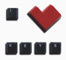 I Heart Keys by Simon Greening