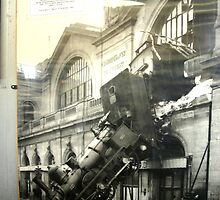 The Gare Montparnasse Accident by Chris Chalk