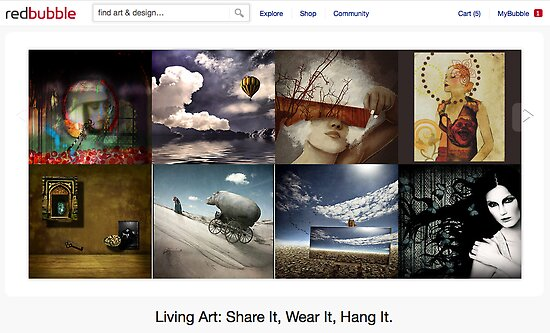 23 August 2011 by The RedBubble Homepage
