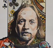 Black Queen :Stephen Stills by threefishes