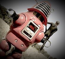 Retro Toy Robby Robot 04 by mdkgraphics