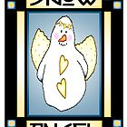 Snowman Angel #1 by Lynn Evenson