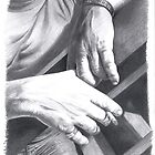 Tactile Love - Mark's Hands by Karen Bittkau