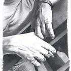 Tactile Love - Mark's Hands by Karen Bittkau