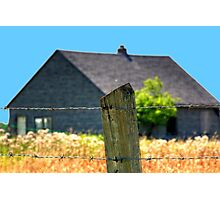 The Fenced!!! Photographic Print