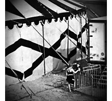 Circus conversation Photographic Print
