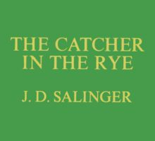 J.D. Salinger - Catcher In The Rye Kids Clothes