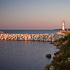 Mackinaw Pointe Evening by Jan Cartwright