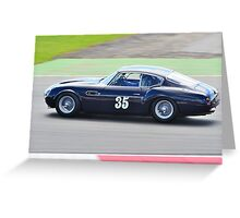 1960 Aston Martin DB4 GT Zagato Greeting Card