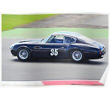 1960 Aston Martin DB4 GT Zagato Poster