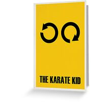 The Karate Kid Greeting Card