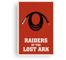 Raiders of the Lost Ark Canvas Print