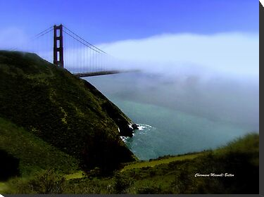Golden Gate  by Charmiene Maxwell-batten