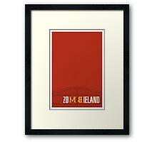 Zombieland Framed Print