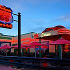 Cruisers Cafe, route 66, Williams AZ (in colour) by raceman