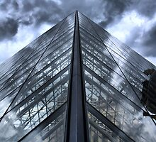 Glass Metal and Sky by Edward Myers