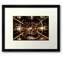 The Time Machine Framed Print