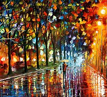 Unreal senses - original oil painting on canvas by Leonid Afremov by Leonid  Afremov