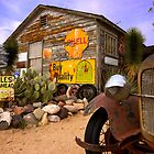 The general store in Hackberry, Route 66 by raceman