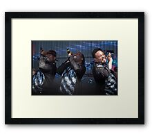 Rewind festival 2011 Earth Wind and Fire Framed Print