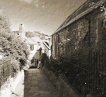 Church Path, Hastings Old Town by Dave Godden