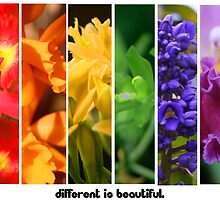 Different is Beautiful by emxacloud
