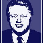 William Jefferson Clinton-3 by OTIS PORRITT