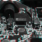 Anaglyph Circuitry 5 by Daniel Owens