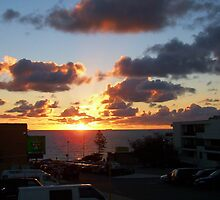 North Cottesloe Sunset Three by Robert Phillips