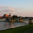 Main High Street Bridge - Hamilton Ohio I by Tony Wilder