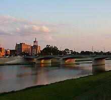 Main High Street Bridge - Hamilton Ohio I by Tony Wilder