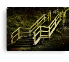 Stairs to Redcliffe. Queensland. Australia. Canvas Print